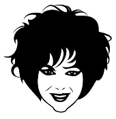Liz Taylor Decal Sticker