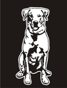 Labrador v5 Decal Sticker