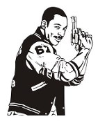 Eddie Murphy Decal Sticker