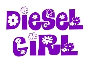Diesel Girl v3 Decal Sticker