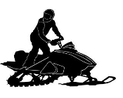 Snowmobile v5 Decal Sticker