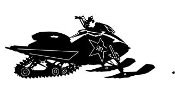 Snowmobile v9 Decal Sticker