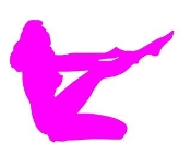 Girl Posing Silhouette v11 Decal Sticker