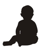 Baby Silhouette v1 Decal Sticker