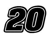 Kenseth 20 Decal Sticker
