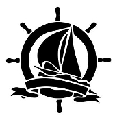 Ship Wheel Design Decal Sticker