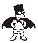 Bartman Decal Sticker