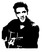 Elvis v3 Decal Sticker