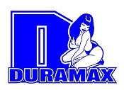 Duramax Diesel Girl v6 Decal Sticker