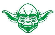 Yoda v3 Decal Sticker