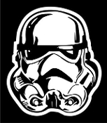 Storm Trooper v2 Decal Sticker