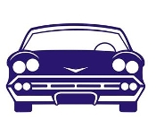 Car Front View v1 Decal Sticker