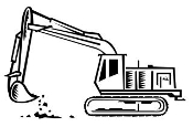 Excavator v5 Decal Sticker