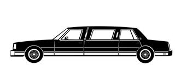 Limousine Decal Sticker