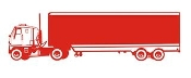 Semi Truck v4 Decal Sticker