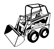 Skid Loader v2 Decal Sticker