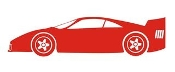 Sports Car v1 Decal Sticker
