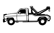 Tow Truck Decal Sticker