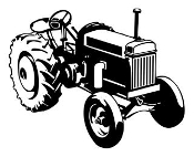 Tractor v6 Decal Sticker