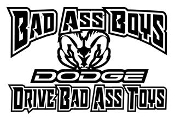 Bad Ass Boys Dodge v2 Decal Sticker