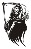 Grim Reaper v8 Decal Sticker