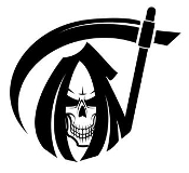Grim Reaper v9 Decal Sticker
