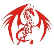 Dragon v47 Decal Sticker