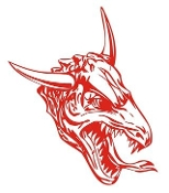 Dragon Head v5 Decal Sticker
