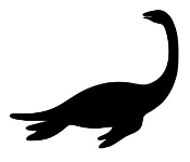 Dinosaur Silhouette 10 Decal Sticker