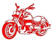 Motorcycle v4 Decal Sticker