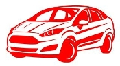 Ford Fiesta v1 Decal Sticker