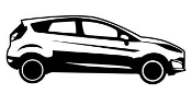 Ford Fiesta v2 Decal Sticker