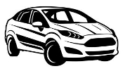 Ford Fiesta v3 Decal Sticker