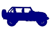 Jeep Silhouette v3 Decal Sticker