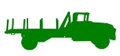 Truck Silhouette v3 Decal Sticker