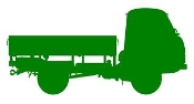 Truck Silhouette v4 Decal Sticker