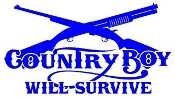 Country Boy Will Survive v1 Decal Sticker
