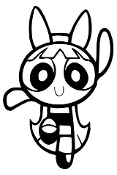 Powerpuff Girl v3 Decal Sticker