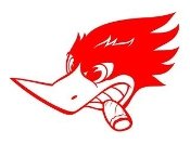 Woody Woodpecker v10 Decal Sticker