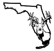 Florida Deer v2 Decal Sticker