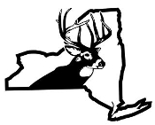 New York Deer Hunting Decal Sticker
