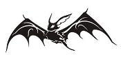 Bat v1 Decal Sticker