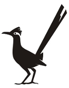 Roadrunner Silhouette v2 Decal Sticker