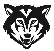 Wolf Head v5 Decal Sticker
