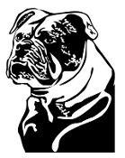 Bulldog v10 Decal Sticker