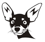 Chihuahua Head v2 Decal Sticker