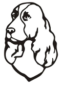 Cocker Spaniel Head v2 Decal Sticker