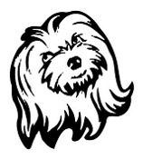 Dog Head v1 Decal Sticker
