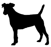 Fox Terrier Silhouette Decal Sticker