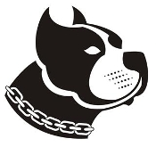 Stafford Bull Terrier Head v1 Decal Sticker